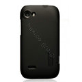 Nillkin Super Matte Hard Cases Skin Covers for Lenovo S760 - Black (High transparent screen protector)