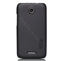 Nillkin Super Matte Hard Cases Skin Covers for Lenovo S889t S899t - Black (High transparent screen protector)