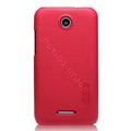 Nillkin Super Matte Hard Cases Skin Covers for Lenovo S889t S899t - Rose (High transparent screen protector)