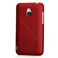 Nillkin Super Matte Hard Cases Skin Covers for MEIZU MX - Red (High transparent screen protector)