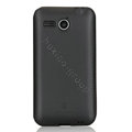 Nillkin Super Matte Rainbow Cases Skin Covers for Huawei C8810 - Core Black (High transparent screen protector)