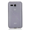 Nillkin Super Matte Rainbow Cases Skin Covers for Huawei C8810 - White (High transparent screen protector)