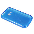 Nillkin Super Matte Rainbow Cases Skin Covers for Huawei G7010 - Blue (High transparent screen protector)