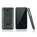 Nillkin Super Matte Rainbow Cases Skin Covers for K-touch E800 - Black (High transparent screen protector)