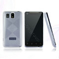 Nillkin Super Matte Rainbow Cases Skin Covers for K-touch E800 - White (High transparent screen protector)