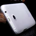 Nillkin Super Matte Rainbow Cases Skin Covers for Lenovo S880 - White (High transparent screen protector)