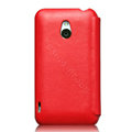 Nillkin leather Cases Holster Covers for MEIZU MX - Red (High transparent screen protector)