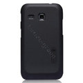 Nillkin Super Matte Hard Cases Skin Covers for Samsung I659 GALAXY Ace Plus - Black (High transparent screen protector)