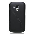 Nillkin Super Matte Hard Cases Skin Covers for Samsung S7562 Galaxy S Duos - Black (High transparent screen protector)