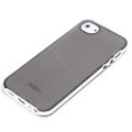 ROCK Joyful free Series Leather Cases Holster Covers for iPhone 5 - Black