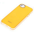 ROCK Joyful free Series Leather Cases Holster Covers for iPhone 5 - Yellow