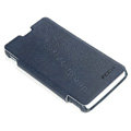 ROCK Side Flip leather Cases Holster Skin for Sony Ericsson LT29i Xperia Hayabusa Xperia GX/TX - Blue