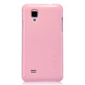 Nillkin Colorful Hard Cases Skin Covers for BBK vivo S12 - Pink (High transparent screen protector)