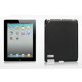 Nillkin Spherical Lines leather Cases Holster Covers for The new ipad - Black (High transparent screen protector)