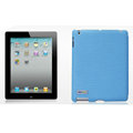 Nillkin Spherical Lines leather Cases Holster Covers for The new ipad - Blue (High transparent screen protector)
