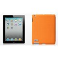 Nillkin Spherical Lines leather Cases Holster Covers for The new ipad - Orange (High transparent screen protector)
