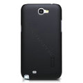 Nillkin Super Matte Hard Cases Skin Covers for Samsung N7100 GALAXY Note2 - Black (High transparent screen protector)