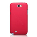 Nillkin Super Matte Hard Cases Skin Covers for Samsung N7100 GALAXY Note2 - Rose (High transparent screen protector)