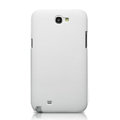 Nillkin Super Matte Hard Cases Skin Covers for Samsung N7100 GALAXY Note2 - White (High transparent screen protector)