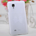 Nillkin Super Matte Rainbow Cases Skin Covers for BBK vivo S12 - White (High transparent screen protector)