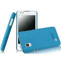 IMAK Cowboy Shell Quicksand Hard Cases Covers for DOOV iEva D3 - Blue (High transparent screen protector)
