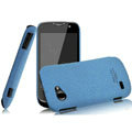 IMAK Cowboy Shell Quicksand Hard Cases Covers for Gionee GN170 - Blue (High transparent screen protector)