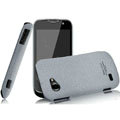 IMAK Cowboy Shell Quicksand Hard Cases Covers for Gionee GN170 - Gray (High transparent screen protector)