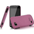 IMAK Cowboy Shell Quicksand Hard Cases Covers for Gionee GN170 - Purple (High transparent screen protector)