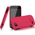 IMAK Cowboy Shell Quicksand Hard Cases Covers for Gionee GN170 - Rose (High transparent screen protector)