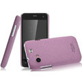 IMAK Cowboy Shell Quicksand Hard Cases Covers for Gionee GN320 - Purple (High transparent screen protector)