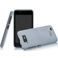 IMAK Cowboy Shell Quicksand Hard Cases Covers for Gionee GN700W - Gray (High transparent screen protector)