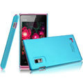 IMAK Ultrathin Matte Color Covers Hard Cases for BBK vivo S1 - Blue (High transparent screen protector)