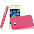 IMAK Ultrathin Matte Color Covers Hard Cases for BBK vivo S3 - Rose (High transparent screen protector)