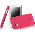 IMAK Ultrathin Matte Color Covers Hard Cases for DOOV iEva D3 - Rose (High transparent screen protector)