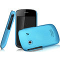IMAK Ultrathin Matte Color Covers Hard Cases for Gionee GN100 - Blue (High transparent screen protector)