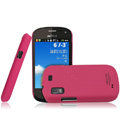 IMAK Ultrathin Matte Color Covers Hard Cases for Gionee GN105 - Rose (High transparent screen protector)