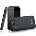 IMAK Ultrathin Matte Color Covers Hard Cases for Gionee GN109 - Black (High transparent screen protector)