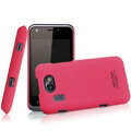 IMAK Ultrathin Matte Color Covers Hard Cases for Gionee GN109 - Rose (High transparent screen protector)