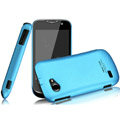 IMAK Ultrathin Matte Color Covers Hard Cases for Gionee GN170 - Blue (High transparent screen protector)