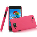 IMAK Ultrathin Matte Color Covers Hard Cases for Gionee GN868 - Rose (High transparent screen protector)