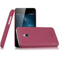 IMAK Ultrathin Matte Color Covers Hard Cases for MEIZU MX - Rose (High transparent screen protector)