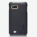 Nillkin Super Matte Hard Cases Skin Covers for Gionee GN800 - Black (High transparent screen protector)