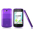Nillkin Super Matte Rainbow Cases Skin Covers for Coolpad 8810 - Purple (High transparent screen protector)