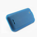 Nillkin Super Matte Rainbow Cases Skin Covers for Coolpad W711 - Blue (High transparent screen protector)