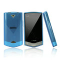 Nillkin Super Matte Rainbow Cases Skin Covers for Coolpad W721 - Blue (High transparent screen protector)