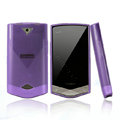 Nillkin Super Matte Rainbow Cases Skin Covers for Coolpad W721 - Purple (High transparent screen protector)