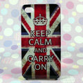 Retro Crown Britain flag Hard Back Cases Covers for iPhone 4G/4GS