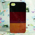Retro Germany flag Hard Back Cases Covers Skin for iPhone 4G/4GS