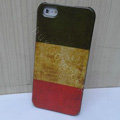 Retro Italy flag Hard Back Cases Covers Skin for iPhone 5