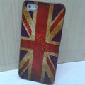 Retro United Kingdom of Britain flag Hard Back Cases Covers Skin for iPhone 5